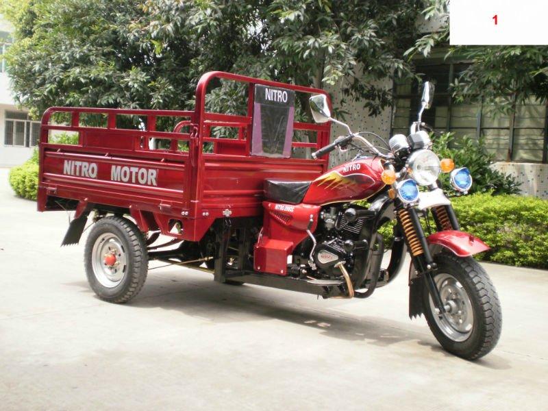 Xe ba bánh chở hàng TP001 - Xe ba bánh Tiến Phát