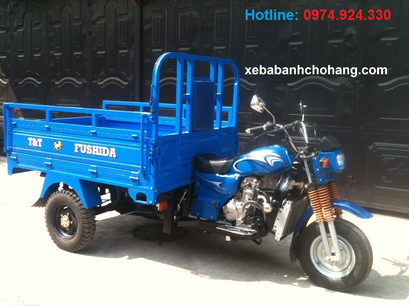 xe ba banh cho hang fushida 175cc