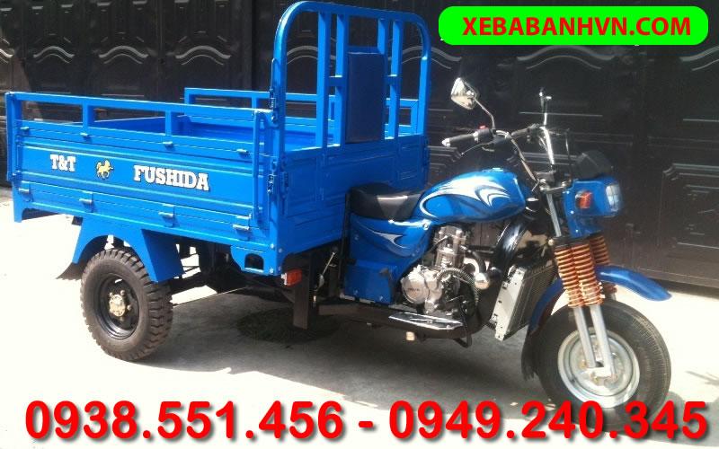 Xe lôi - Xe ba bánh - Xe ba gác chở hàng TT FUSHIDA 175cc - Xe ba bánh Tiến Phát